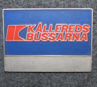 AB Kålleredsbussarna, bussikuskin merkki