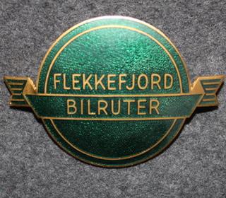 Flekkefjord Bilruter, bussikuskin merkki