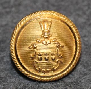 Halmstads Kommuns  Brandkår, Ruotsalainen kunnallinen palokunta, 13mm kullattu