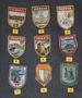Vintage Souvenir patches: Verona, Moskva CCCP, Padova, Venezia, Trieste, Porec Jugoslavia....