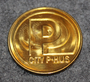 City P-Hus, parking token.
