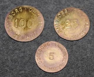 Original Odhner Göteborg, mekaanisten laskukoneiden valmistaja.