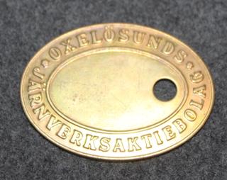 Oxelösunds Jernverksaktiebolaget AB.