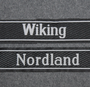SS cuff titles, Nordland, Wiking
