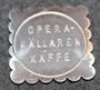 Operakällaren G. & G.S. Kaffe, Ravintolan palvelurahake