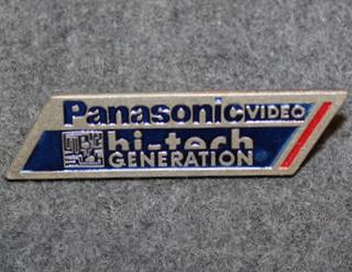 Panasonic Video, hi-tech generation.