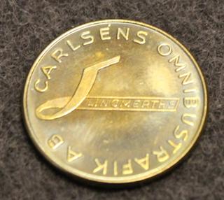 Carlséns Omnibustrafik AB, bussifirma. 22mm