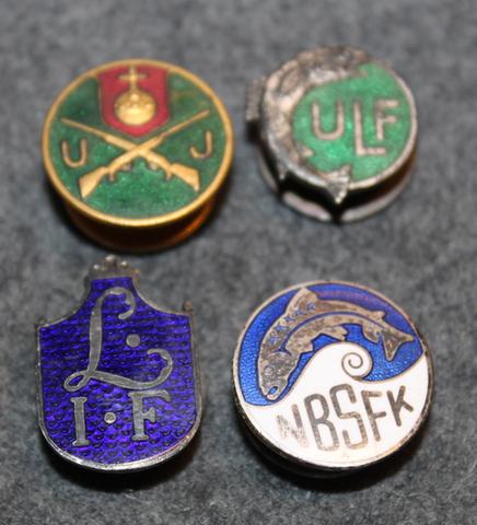 NBSFK Närke Bergslagens Sportfiskeklubb, LIF, UJ, ULF, urheilu, metsästys ja kalastus seuroja.