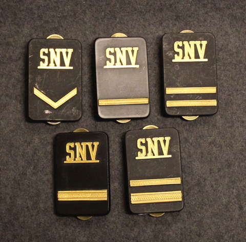Securitas rank badges, SNV