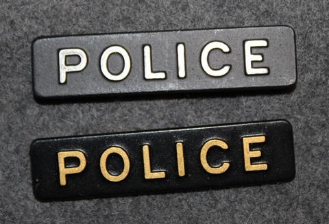 Police, poliisin univormutunnus