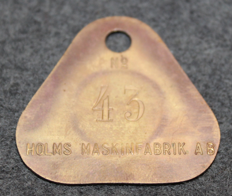 Holms Maskinfabrik AB, Södertälje, konepaja