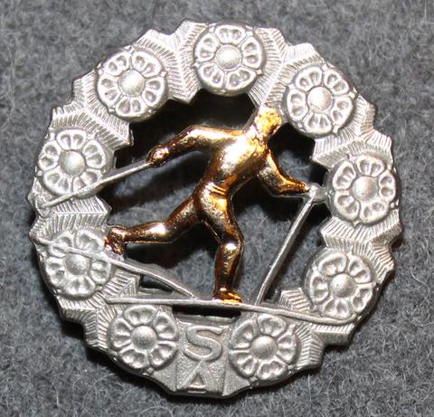 Hiihtomerkki. Suomen armeija.