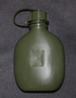Canteen, 0,65L, plastic, Finnish army.