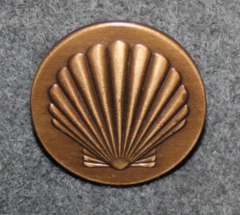 Shell, öljy-yhtiö, 24mm pronssi