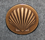 Shell, oil company, 24mm Bronze