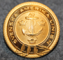 Svenska Amerikalinjen, shipping company, old type, 25mm, gilt.  LAST IN STOCK