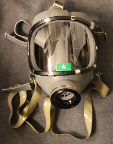 Gasmask Kemira M/71, Finnish CD, w/ box, unissued.