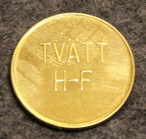 Hudiksvalls Fastighetsaktiebolag, Tvätt, pyykkiraha