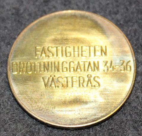Tvättstugespecialisten Västerås, Fastigheten Drottninggatan 34-36 Västerås. Pesupoletti.