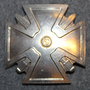 NCO school graduation badge, parts. Finnish Army
