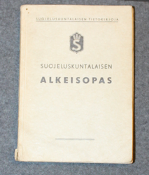 Basic training manual, Finnish Civil guard 1938