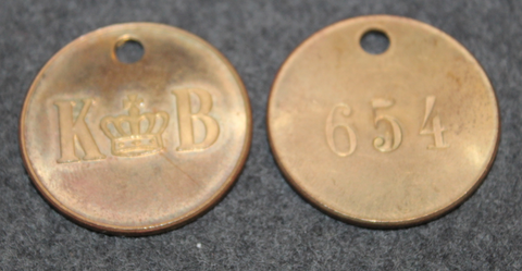 Korsnäs AB, 30,5mm. Forest industry corporation.