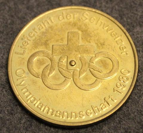 Madaus, Lieferant der Schweizer Olympiamannschaft 1980
