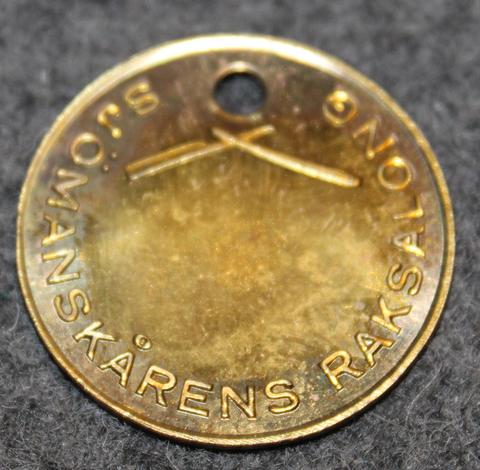 Sjömanskårens Raksalong, Sjömanshemmet Karlskrona. Merimieskodin parturi.