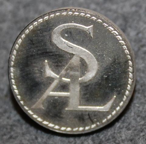 Svenska Amerika Linien, laiva-yhtiö, SAL. 20mm