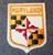 Maryland, matkamuisto kangasmerkki.