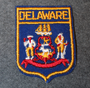 Delaware, souvenir patch.