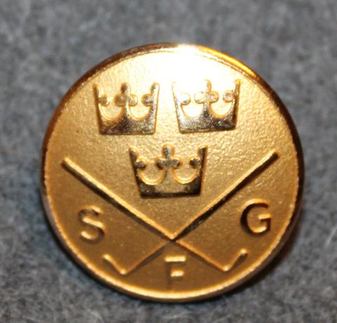 Svenska Golfförbundet, SFG, Ruotsin golfliitto, 22mm