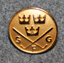 Svenska Golfförbundet, SFG, Swedish golf federation, 16mm