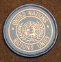 United nations, YK, Nations Unies, rauhanturvaajamerkki