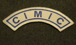 Civil Military Cooperation (CIMIC), Peace keeper patch.