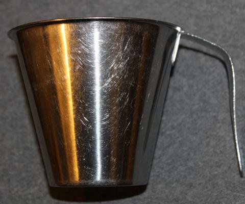 Stainless Steel mug w/handle, Finnish