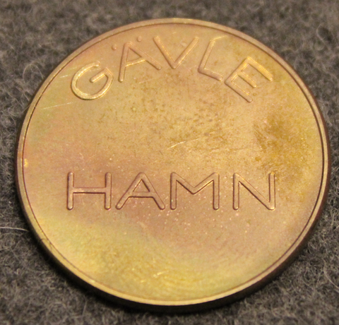 Gävle Hamn, Vågpollett, scale token.