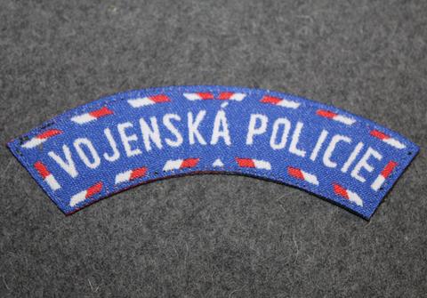 Vojenská Policie, sotilaspoliisi, tsekkiläinen.