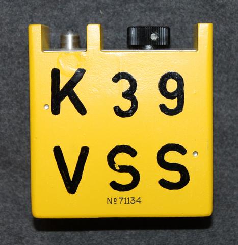 Wallac varauslaite dosimetrille ( henkilökohtainen säteilynmittauslaite. )