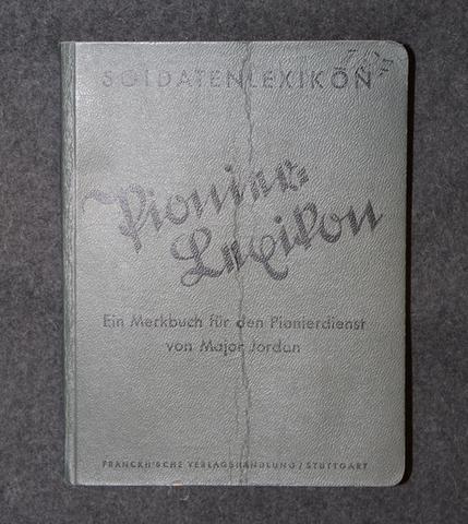 Pionierlexikon, ein merkbuch für den pionierdienst. Pioneerien opas, 1936