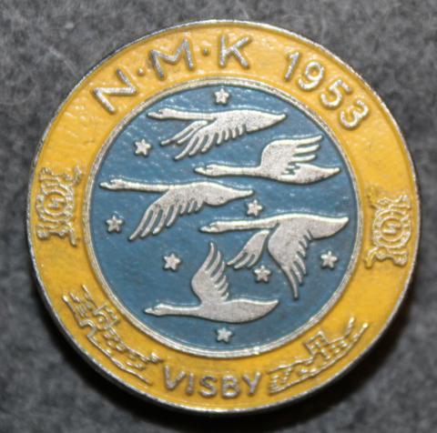 NMK, Nordiska Mejerikongressen Visby 1953, Meijerikongressi