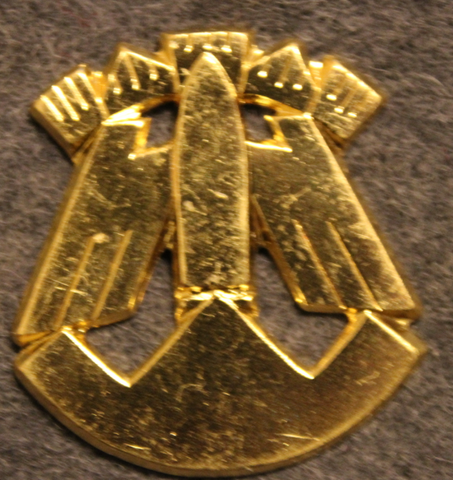 Rovaniemi Air Defense Battery, Finnish army, shoulder insignia.