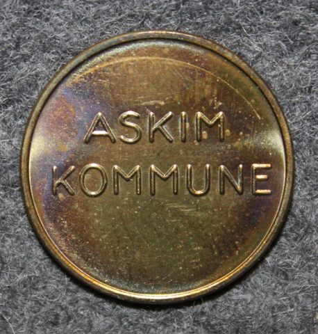 Askim Kommune, Norwegian municipality.