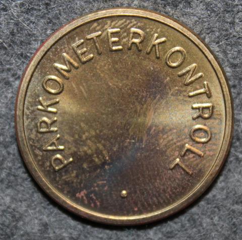 Parkometerkontroll, Oslo Kommune, Parking token