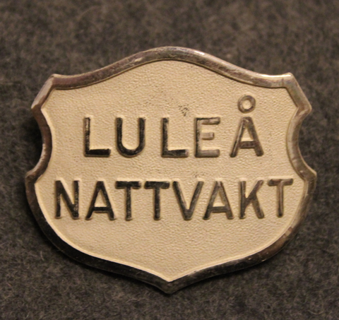 Luleå Nattvakt, security. LAST IN STOCK