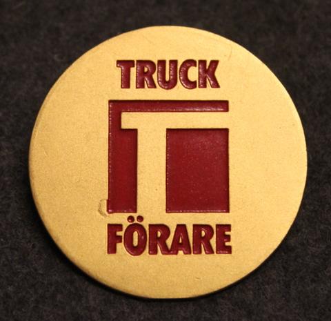 Truck Förare, Fork lift operator.
