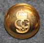 Carl XVI Gustaf, His Royal Highness, the King of Sweden 23mm, gilt, LAST IN STOCK