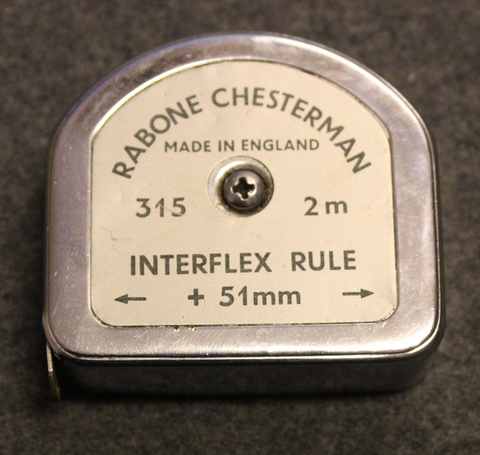 Rabone, spring tape measure 2m, 1960´s, made in England