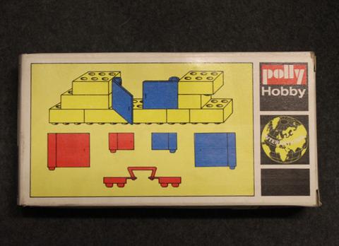 Polly Hobby International, rakennuspalikka setti no:09, 1970 lukua, avaamaton.