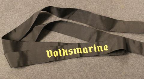 DDR, Volksmarine lakkinauha